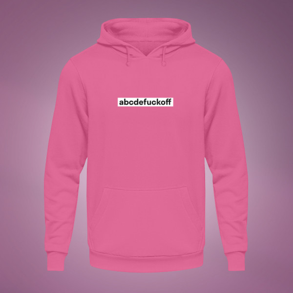 abcde Fuck Off - Hoodie